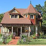The Benefield House Jefferson Texas Poster