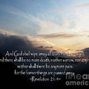 The  Bible Revelation 21 Poster