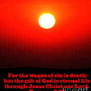 The Bible Romans 6 Poster
