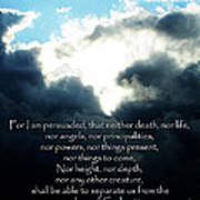 The Bible Romans 8 Poster