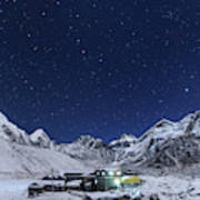The Big Dipper Rise Above The Himalayas Poster