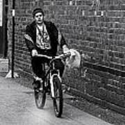 The Biker Poster