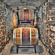 The Biltmore Estate Wine Barrels Poster