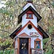 The Birdhouse Kingdom -the Pygmy Nuthatch Poster
