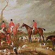 The Birton Hunt Poster by John E Ferneley