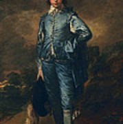 The Blue Boy, C.1770 Poster