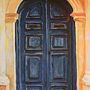 The Blue Door Venice Poster