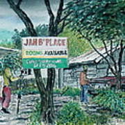 The Blue Mountains Of Jamaica Poster