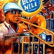 The Blue Nile Jazz Club Poster