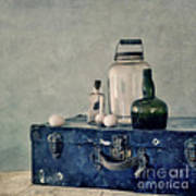 The Blue Suitcase Poster