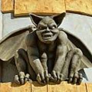 The Boardwalk Of Santa Cruz Gargoyles Poster