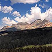 Mountain Pass - Colorado Poster