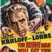 The Boogie Man Will Get You, Us Poster Poster