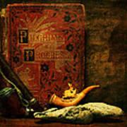 The Bookshelf Poster