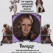 The Boy Friend, Us Poster Art, Twiggy Poster by Everett