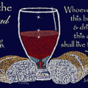 The Bread Of Life Poster by Robyn Stacey