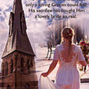 The Bride Of Christ Poem By Kathy Clark Poster