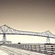 The Bridge At Astoria Poster