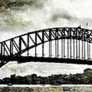 The Bridge Spattled Poster