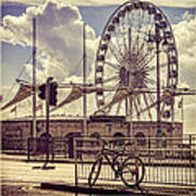 The Brighton Wheel Poster