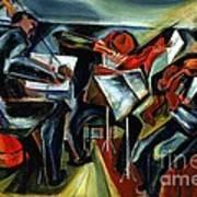 The Budapest String Quartet Poster