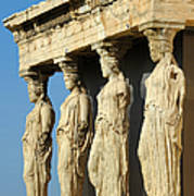 The Caryatid Porch Poster