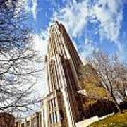 The Cathedral Of Learning 1 Poster