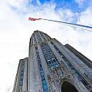 The Cathedral Of Learning 4 Poster