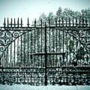 The Cemetery Gates Poster