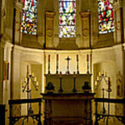 The Chapel In Chenonceau Castle Poster