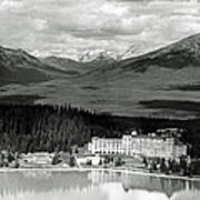 The Chateau Lake Louise Poster