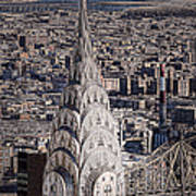 The Chrysler Building Poster