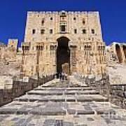 The Citadel In Aleppo Syria Poster