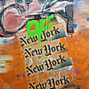The City Of New York Poster