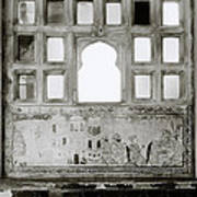 The City Palace Window Poster