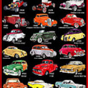 Ford Poster Art Poster