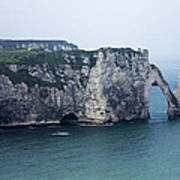 The Cliffs At Etretat Poster