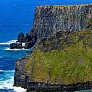 The Cliffs Of Moher In Ireland Poster
