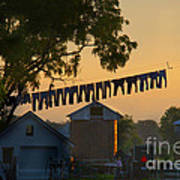 The Clothes Line Poster