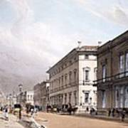 The Club Houses, Pall Mall, 1842 Poster by Thomas Shotter Boys