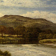The Conway Near Bettws Y Coed Poster
