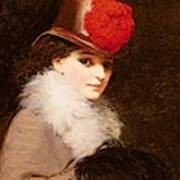 The Coquette, 1863 Poster