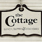 The Cottage In Lake Placid New York  Poster
