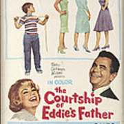 The Courtship Of Eddie's Father Poster