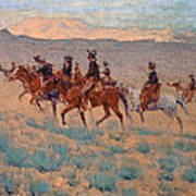 The Cowpunchers Poster by Frederic Remington