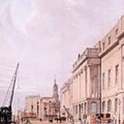 The Custom House, From London Poster