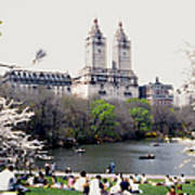 The Dakota From Central Park Poster