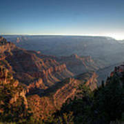 The Day Begins Grand Canyon Poster