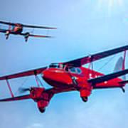 The De Havilland Dh90 Dragonfly Poster