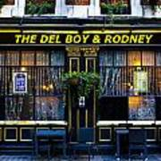 The Del Boy And Rodney Pub Poster